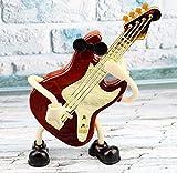 Speedmar Caja de joyería Musical para niños Caja de música de diseño de Guitarra para Regalo de día de los niños y decoración de la Tienda de Instrumentos Musicales