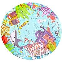 ac5755629664f7 YeahiBaby Jeu de Pêche Magnétique Jouets avec Plateau Rotatif et Canne à  Pêche pour Enfants Jeu