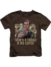 Star Trek - Youth Coffee Tribble T-Shirt
