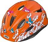 ABUS Rookie Butterfly Casque de Vélo Bébé/Enfant Orange Taille S