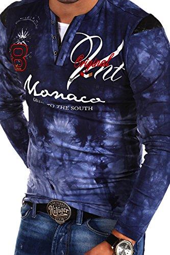 MT Styles 2in1 Longsleeve P-MONACO Blau R-0760 Dunkelblau