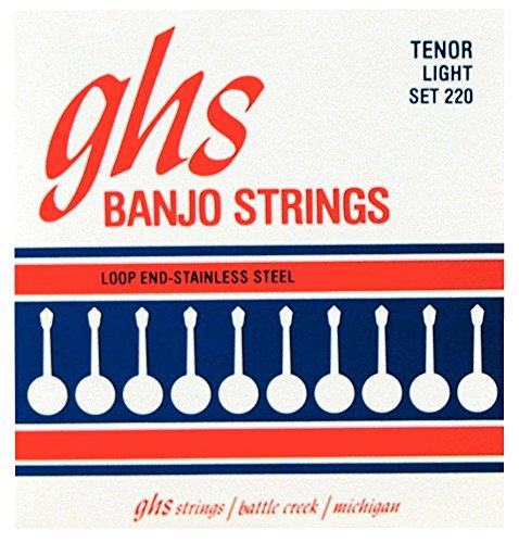 ghs 220 LIGHT Banjo Stainless Steel (4-String)