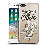 Head Case Designs Schuhe Braut Sammlung Ruckseite Hülle für Apple iPhone 7 Plus / iPhone 8 Plus