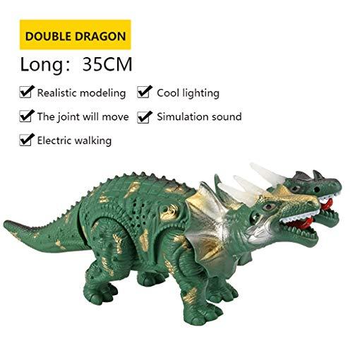 Mitlfuny Auto-Modell Plüsch Bildung Squishy Spielzeug aufblasbares Spielzeug im Freien Spielzeug,Kinder elektrischer Dinosaurier spielt (Toy Story Aliens Kostüm)