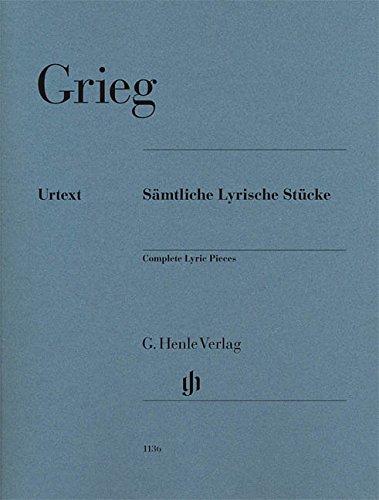 Pieces Lyriques Completes --- Piano