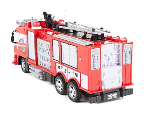 RC Auto kaufen Feuerwehr Bild 2: World Tech Toys 34980 Feuerwehrauto, Rot*