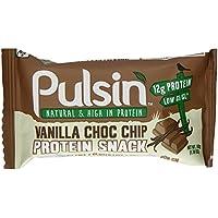 Pulsin Protein Snack Vanilla Choc Chip 18 x 50g bars