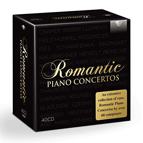 Romantic Piano Concertos - Czerny Sinfonie