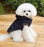 Demarkt Haustier Hund Katze Kleidung, Hundemantel Warm Kleidung Haustier Pullover Welpen Mantel Kostüm Bekleidung für den Herbst Winter