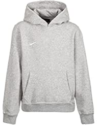 Nike Yth Team Club Hoody, Sudadera con capucha para niño, Gris (Grey Heather/Football White), L (147-158)