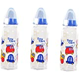 Tiny Care Diamond Baby Feeding Bottle(Pack Of 3,200 Ml)