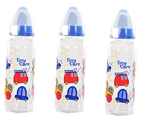 Tiny Care Diamond Baby Feeding Bottle(Pack Of 3,200 Ml)