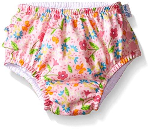 i play. 711150-230-45 Classics ultimative Schwimmwindel mit Rüschen und Druckknöpfen 18-24 Monate, Spring Garden, pink