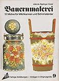 Bauernmalerei. 15 Motive für Milchkannen und Schirmständer. Vorlagenmappe 9