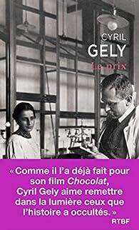 Le prix par Cyril Gély