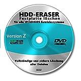 Computer Festplatte löschen Software CD/DVD NEU