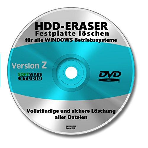 Computer Festplatte löschen Software CD/DVD - Löschen Festplatte