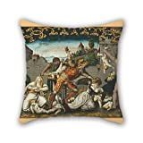 Loveloveu Pillow Cases Of Oil Painting Schmid, Thomas ((1490-1550)), Artist - Probably - Massacre Of The Holy Innocents,for Saloon,seat,home,couch,christmas,drawing Room 16 X 16 Inches / 40 By 40 C