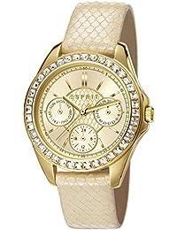 Esprit Damen-Armbanduhr Vita Analog Quarz Leder ES107872002