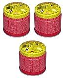 Rothenberger Industrial - C200 Supergas - 3er Pack - Anstechkartuschenset - Butan Gasgemisch - 1000000984