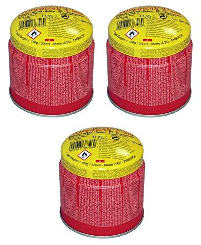 Preisvergleich Produktbild Rothenberger Industrial - C200 Supergas - 3er Pack - Anstechkartuschenset - Butan Gasgemisch - 1000000984