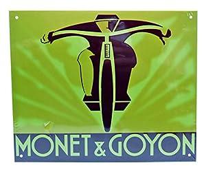 Dioramax-Placa Metal-Monet & Goyon-Beige-Escala-1/1