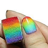 12pcs ongles dégradé doux Eponges couleur Fade manucure bricolage Outils Creative Nail Art Accessoires...