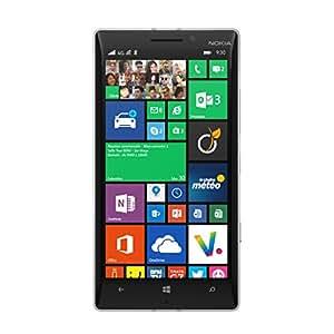 Nokia Lumia 930 Smartphone débloqué 4G (Ecran: 5 pouces - 32 Go - Windows Phone 8.1) Blanc