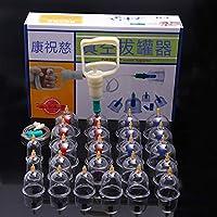 BG-YUFI YF Schröpfen Glas, 24 Dosen Dicke magnetische Therapie Vakuum Schröpfen Haushalt Pumpen Schröpfen Tassen - preisvergleich bei billige-tabletten.eu