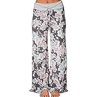 Yoga Hose, Melansay Frauen Beiläufige Yogahosen Falten Kordelzug Breites Bein Aufflackern Pilates Hosen Lose Hosen