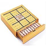 Eleganantimpresionante Tabla de Juego de Madera Sudoku educativa para niños con Bloques de matemáticas, Juguetes (40 Rompecabezas) Navidad para niños