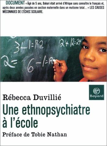 Une ethnopsychiatre à l'école