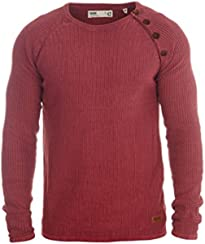 SOLID Tenne Pullover, Größe:M;Farbe:Wine Red (0985)