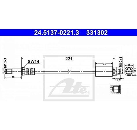 ATE 24511102413 Bremsschlauch