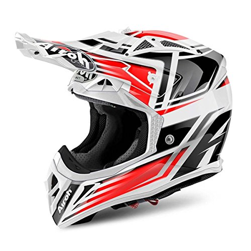 Airoh Aviator Restyle rot Full Face Helm moto-x