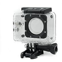 QUMOX Carcasa original 2da versión Resistente agua para Cámara Deportiva SJ4000 Wifi SJ-4000 Cámara FHD 1080p 720p