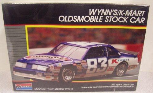2779-monogram-nascar-lake-speed-wynns-k-mart-oldsmobile-stock-car-1-24-scale-plastic-model-kit-by-mo