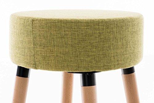 Sgabelli Cucina Colorati : Clp sgabello bar karl in tessuto sedia cucina senza schienale