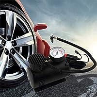 Portátil Negro Versátil 12 V 300PSI Bomba del Inflador del Neumático del Coche Mini Compresor de