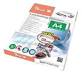 Peach PP580-02 - Pack de 100 láminas de plastificar, DIN A4, color transparente