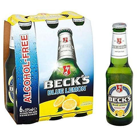 Alcool Bière gratuite Blue Lemon 6 x 275ml de Beck
