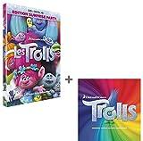Pack Les Trolls: DVD + CD (bande originale du film)