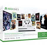 Pack Xbox One S 500Go 3M Game Pass + 3M LIVE