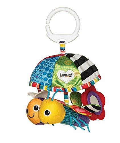 """Lamaze Baby Spielzeug """"Freddie's Garten Mobile"""" Clip & Go - hochwertiges Kleinkindspielzeug - Greifling Anhänger zur Stärkung der Eltern-Kind-Beziehung - ab 0 Monate"""