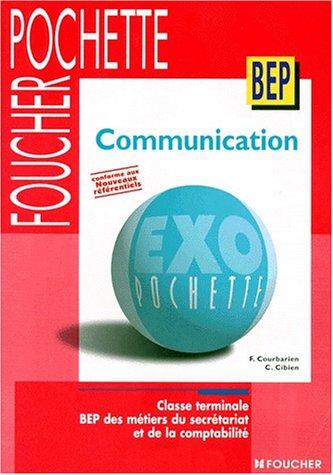 Exo pochette Communication, Terminale BEP Secrétariat