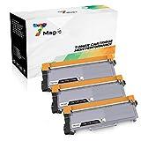 7Magic Compatible Brother TN2320 TN-2320 Cartucho de Tóner (3 Negro) de Alta Capacidad Para Brother MFC-L2700DW MFC-L2740DW MFC-L2720DW HL-L2300D HL-L2340DW DCP-L2520DW DCP-L2500D Impresora