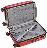 Packenger Premium Koffer 2er-Set Velvet, M/L, Rot - 5
