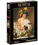 Clementoni 31445 - Puzzle Caravaggio - Bacco, Collezione Museum, 1000 Pezzi