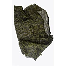 Camuflaje cañamazo neta 100cm x 198cm, redes bufanda militar del Ejército. ...