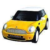 Eureka 52473416 - Puzzel 3D Mini Cooper 1:32, geel